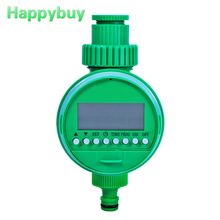 Электронный полива сада таймер автоматический LCD Экран дисплея шаровой клапан воды таймер полива контроллер Системы таймер для полива