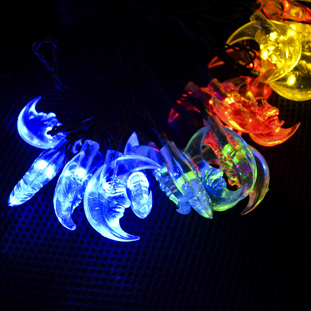 Wonderful Solar Lighting Color Crystal Patio LED String Fairy Lights For Wedding  Decoreation Outdoor Party, Waterproof