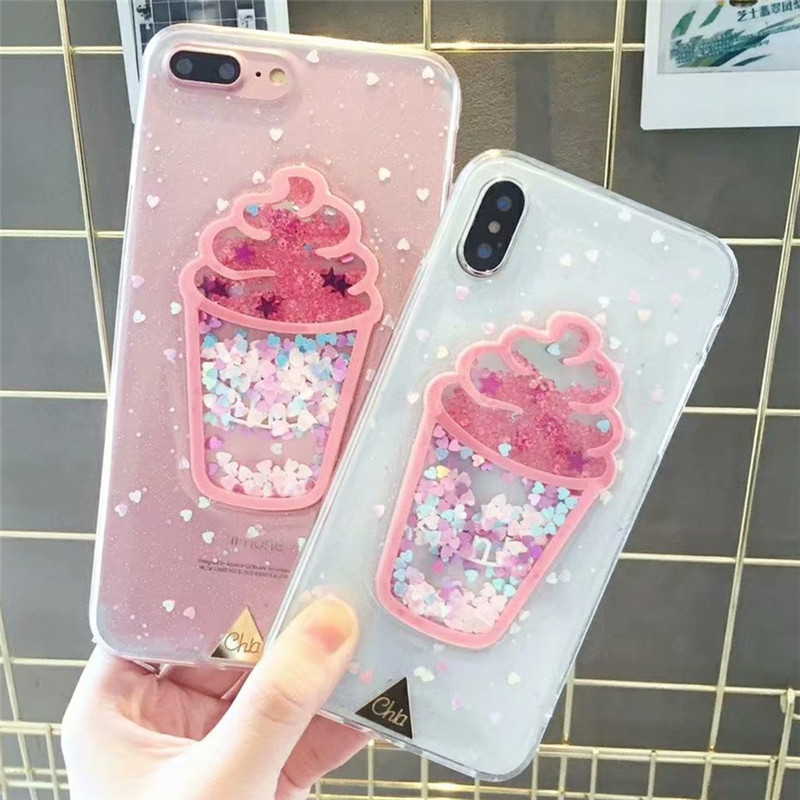 Fghgf Case For Iphone X Xr Xs Max Tpu Liquid Sand Cover For Iphone 6 6s 7 8 Plus Colorful Pattern Case For Iphone 5 5s Se Fundas Phone Bags & Cases Cellphones & Telecommunications