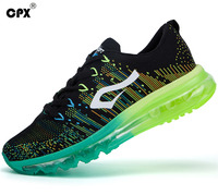 CPX Brand 2017 Christmas Mens And Womens Running Shoes Knit Men Women Sneakers Breathable Mesh Outdoor
