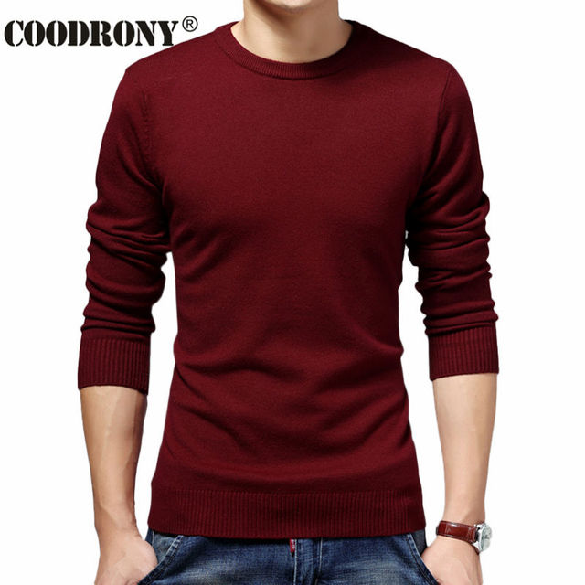 High Quality O-Neck Sweater And Pullover Men Brand Clothing Winter Christmas Thick Warm Cashmere Knitwear Men Wool Sweater 66222