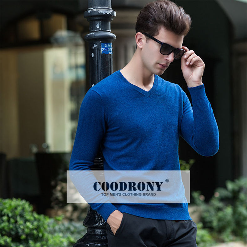 COODRONY Mens Sweaters 2018 Autumn Winter Thick Warm Cashmere ... 32268ea88