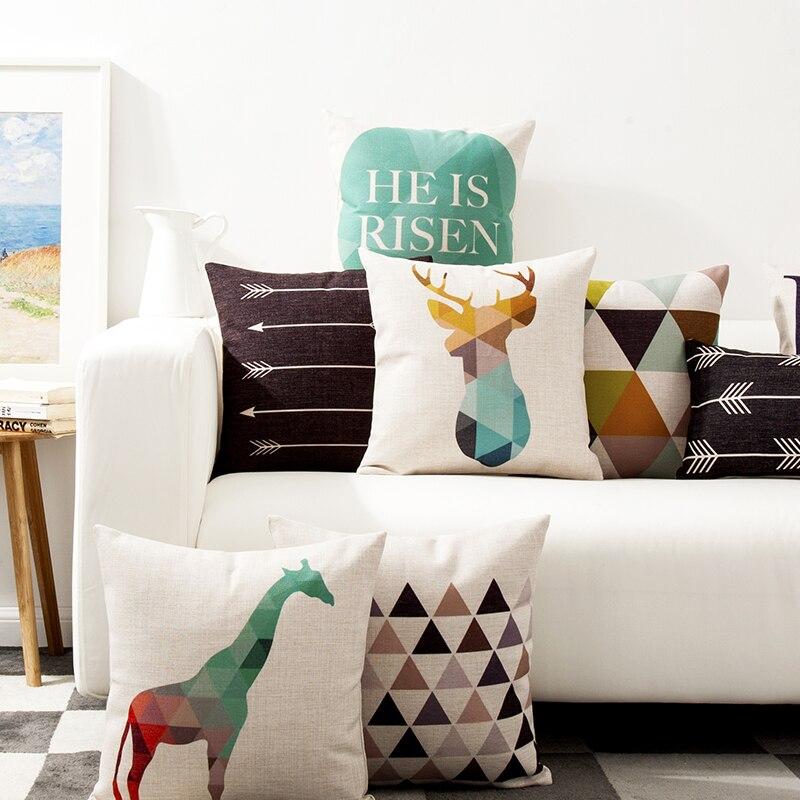 achetez en gros cerfs coussin couvre en ligne des grossistes cerfs coussin couvre chinois. Black Bedroom Furniture Sets. Home Design Ideas