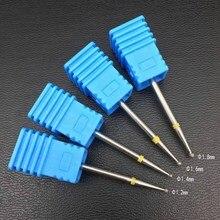 4 шт./компл. мяч алмазные фрезы для маникюра 1,2 1,4 1,6 1,8 мм вращаться фреза кутикулы Чистая электрическая биты для маникюра