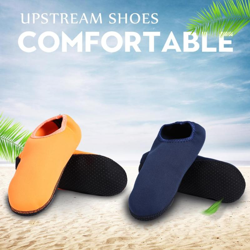 Outdoor Anti-skid Water Shoes Unisex Summer Beach Swimming Surfing Socks Adult Aqua Flat Soft Walking Yoga Non-slip Sneakers