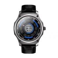 Новый Тип SmartWatch для Android 5.1 Системы Нержавеющая сталь HD круглый 1 ГБ + 8 ГБ Reloj inteligente Поддержка GPS Wi-Fi смарт-часы