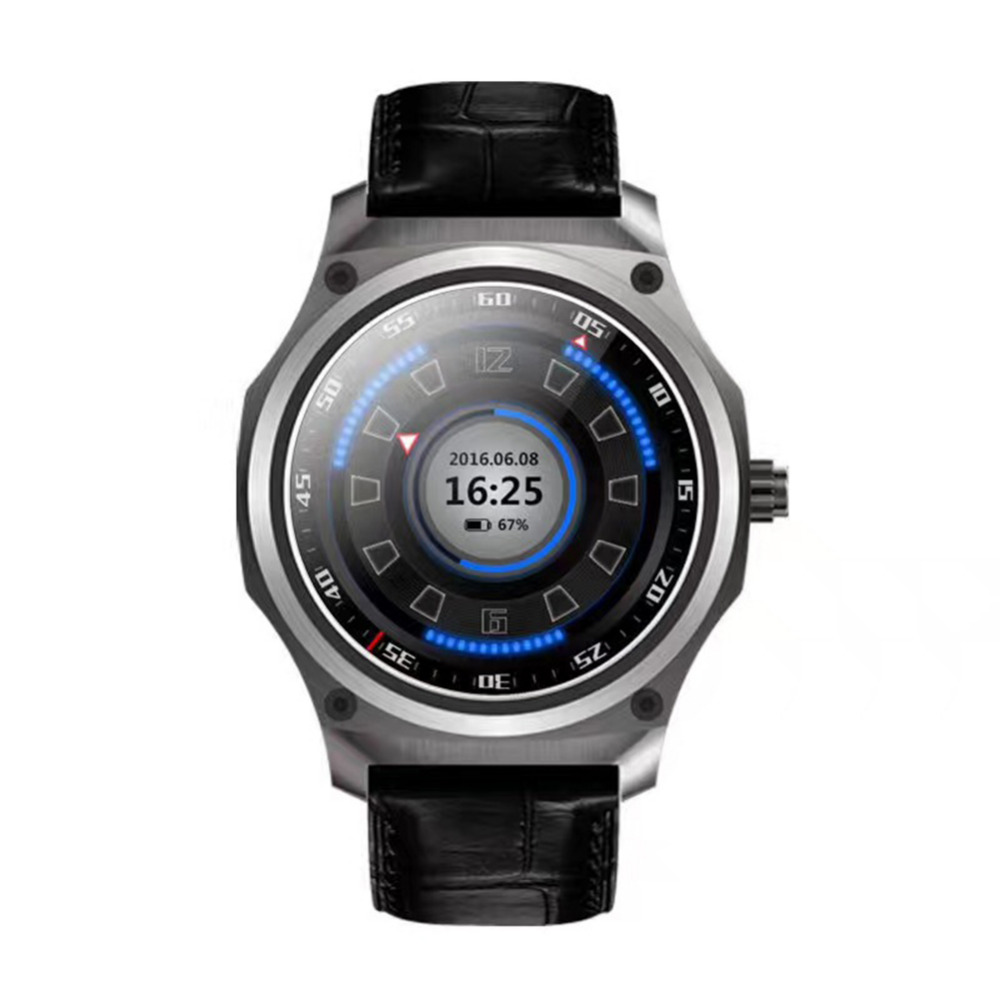 Galleria fotografica Nuovo Tipo <font><b>Smartwatch</b></font> per Android 5.1 del Sistema In Acciaio Inox HD Rotondo 1 GB + 8 GB Reloj Inteligente Supporto GPS WiFi Intelligente Orologio