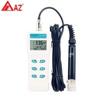 AZ8403 кислорода Анализатор метр, аквариум кислорода датчик плотности, зонд Портативный растворенного кислорода воды оксигенатор