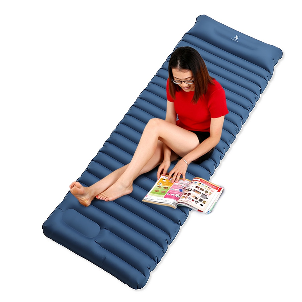 Matelas de couchage gonflable tapis de couchage ultra-léger matelas de couchage gonflable sacs de Camping en plein air matelas pour randonnée voyage