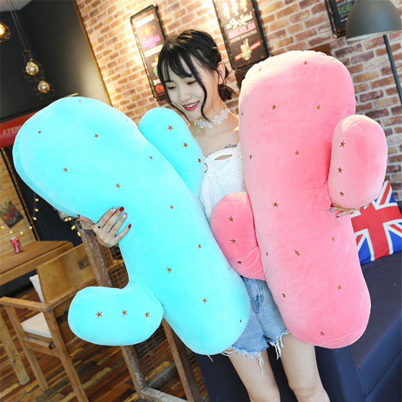Fancytrader Pop Anime Plants Plush Pillow Toy Cute Stuffed Cactus Toys Doll 80cm 31inch 1 pcs cute anime school stuffed
