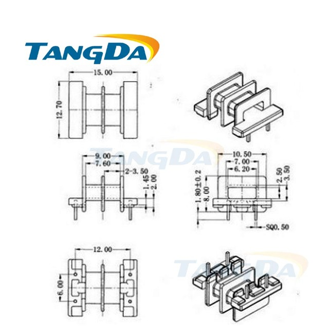Aliexpress.com : Buy Tangda EE EE15 Type 5+5 pin 10P