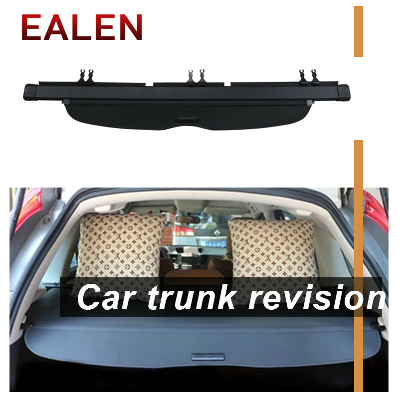 EALEN For Honda CRV 2007 2008 2009 2010 2011 Auto accessories 1Set Car Rear Trunk Cargo Cover Black Security Shield Shade Fit-in Rear Racks & Accessories from Automobiles & Motorcycles    1