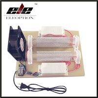Eleoption 110 V/220 V 15000 mg/h gerador de ozônio Tubo de Ozônio purificador de ar máquina de desinfecção 130 W
