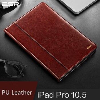 Чехол ESR для iPad Pro 10,5/11, чехол премиум класса из искусственной кожи, роскошный бизнес-Чехол-книжка с функцией автоматического пробуждения, ум...