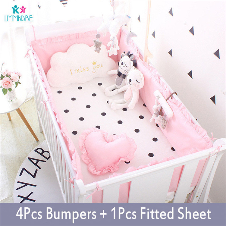 5Pcs-Baby-Breathable-Crib-Bumper-Pad-Oval-Bed-Crib-Liner-Set-for-Baby-Boys-Girls-Safe(5)