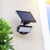 Solar Powered Led Flood Lights Motion Sensor Outdoor Solar Street lamps Wireless Remote Control Model Security Solar Wall Lights
