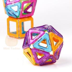 Image 2 - 52 106PCS Mini Magnetic Blocks Educational Construction Set Models & Building Toy ABS Magnet Designer Kids Magnets Game Gift
