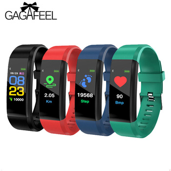 115 Sports watch fitness smart bracelet Men Women Heart Rate blood pressure watches Calories Pedometer for Android IOS Phone