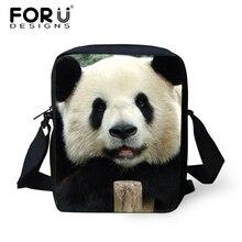 Nette Mops Bulldogge Hund Kleine Messenger Bags, Frauen 3d Tier Panda Lässige Crossbody tasche für Jungen Mädchen Dual Zweck Umhängetasche