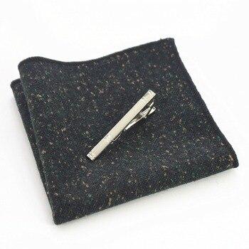 Gammy Wool Hand Made Tie Set – Dark Speckles