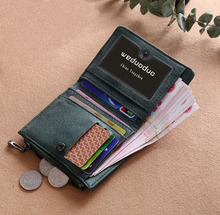Купить с кэшбэком Brand Design Women Wallets Hand Embroidery Wallet Femal Coin wallet High Quality Hasp Swan Money Bag Lady Clutch Handbag