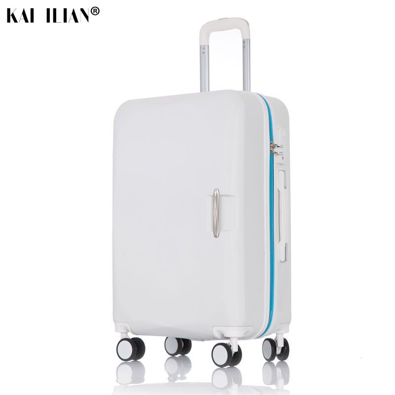 Suitcase on wheels travel luggage set cabin Spinner rolling luggage Women student trolley suitcase ABS Road suitcase with wheels