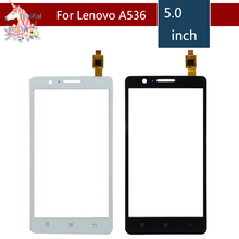 5.0 For Lenovo A536 / A 536 LCD Touch Screen Digitizer Sensor Outer Glass Lens Panel Replacement 4 5 for lenovo a516 a 516 lcd touch screen digitizer sensor outer glass lens panel replacement