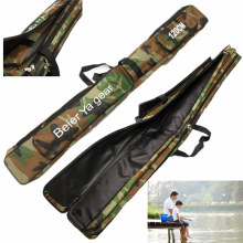 Bobing 120cm Camouflage Carp Fishing Rod Tackle Bag Case Padded Holder Luggage Holdall Fishing Tackle Boxes For Fishing Rod