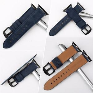 Image 2 - MAIKES High Quality Leather Watch Strap For Apple Watch Band 42mm 38mm / 44mm 40mm Series 4/3/2/1 All Models iWatch Watchband