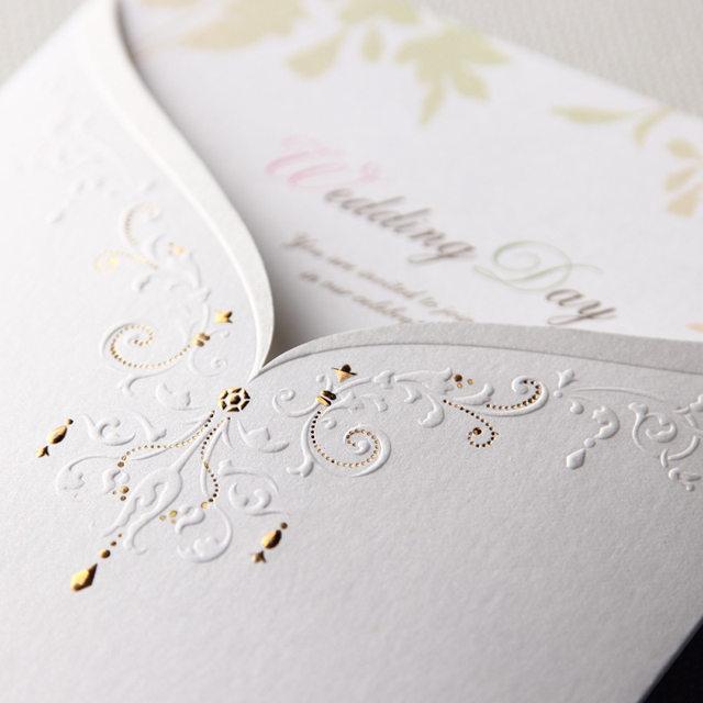 Online shop 100 piece paper wedding invitations bride groomblank image stopboris Gallery