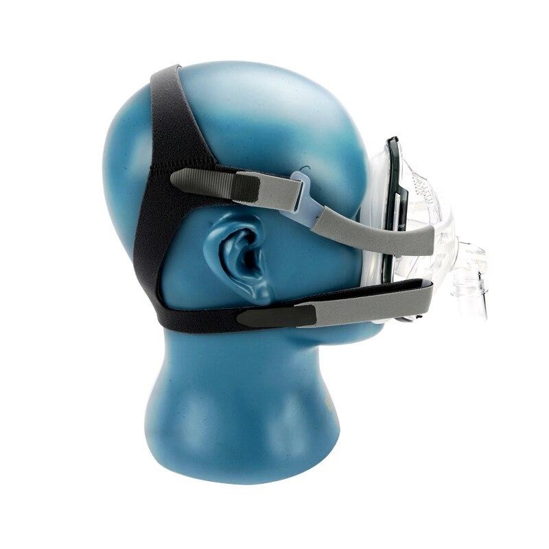 FM1A masque facial complet pour Machine Bipap CPAP ronflement et thérapie du sommeil taille SML connecter le visage et le tuyau avec des Clips de couvre chef-in Sommeil et ronflement from Beauté & Santé    2