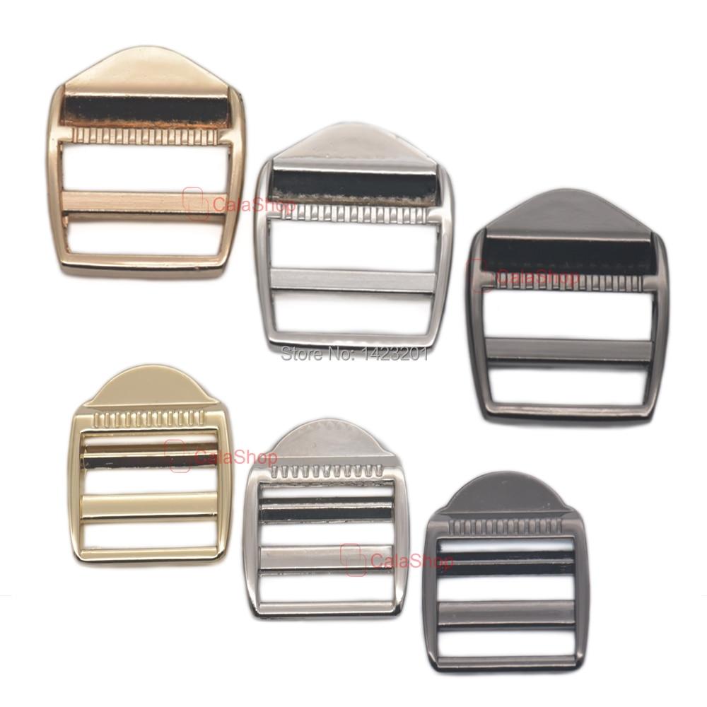 Buckles & Hooks 5/12/25/60 Pcs Lot Adjuster Triglides Buckles For Backpack Suspender Shoulder Strap Webbing Handbags Leather Diy Belt Arts,crafts & Sewing