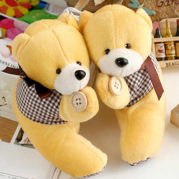 4 шт./партия плюшевая игрушка медведь лента для штор занавес Пряжка галстук домашний Dec мультфильм милый галстук оптовая продажа FG379