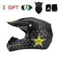 Hot Sales Professional Luz Off-road Capacetes downhill Completa Rosto Capacete Capacete Da Motocicleta DOT aprovado capacete cruz