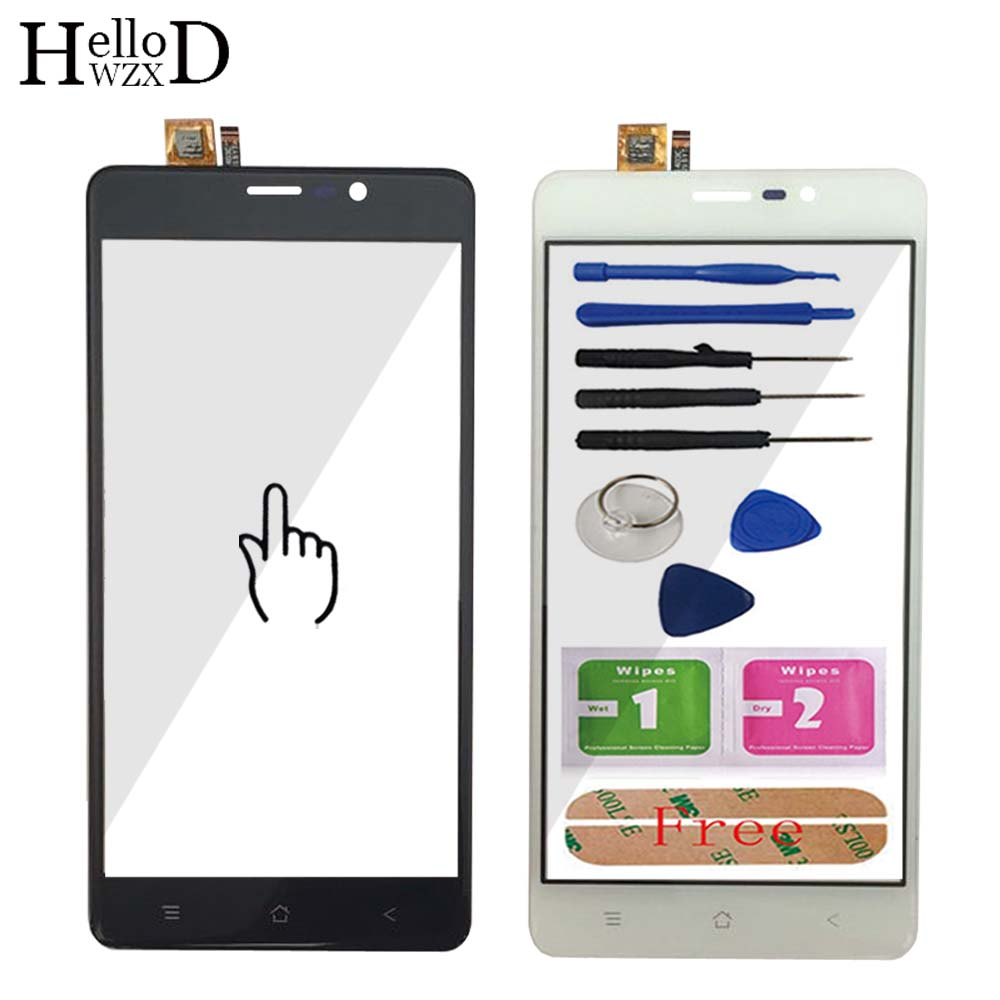 Touch Screen For Blackview A8 Max Mobile Front Touch Screen Glass Digitizer Panel TouchScreen Sensor Mobie Phone Tools Adhesive