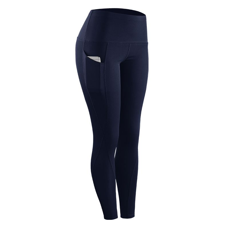 Women Fashion Casual Stretch Compression Pants Multi Color Quick-Drying Capris