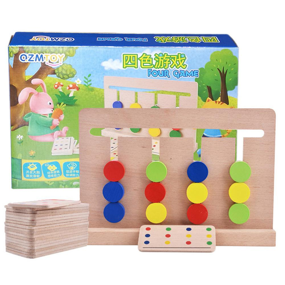 LeadingStar 4 Colors Logic Games Math Early Education ...