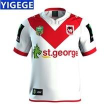 f8f25e22f72 YIGEGE ST GEORGE ILLAWARRA DRAGONS 2017 HOME JERSEY nrl Jersey 2019 ST  GEORGE ILLAWARRA DRAGONS HOME rugby Jerseys size S-3XL