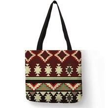 Fancy Geometry Design Shoulder Bag for Lady Girls Multi Func