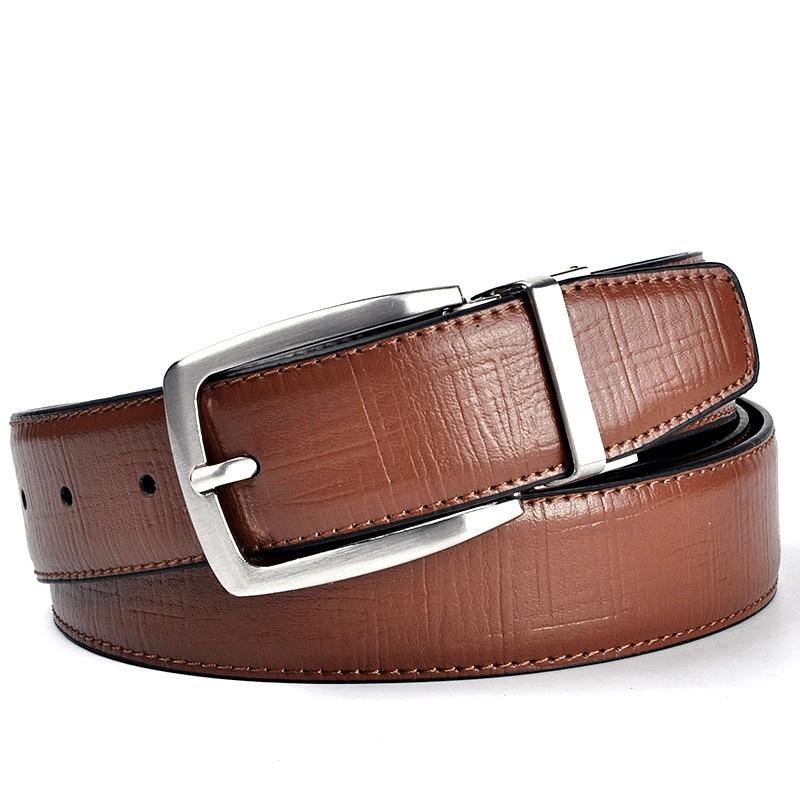 df82130e7c2dc3 Nowych mężczyzna pas skórzane luksusowe marki słynny projektant prawdziwej  skóry marki luksusowe paski brązowe spodnie mężczyźni