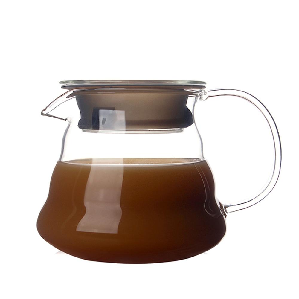 350-750 мл облачная форма диапазон сервера стеклянный кофейник цветочный горшок Простая Офисная Кофейная Кружка Чайный фильтр подарок чайная ...