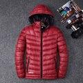 O Envio gratuito de 2016 Ocasional dos homens Curto Para Baixo dos homens Jaqueta Moda Inverno Engrossar Casaco de Inverno Quente Para Baixo Parkas WN 170