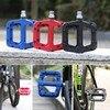 WHEEL UP Bike Bicycle Pedals MTB Road Bike BMX Nylon Fiber Ultralight Pedals 3 Bearings