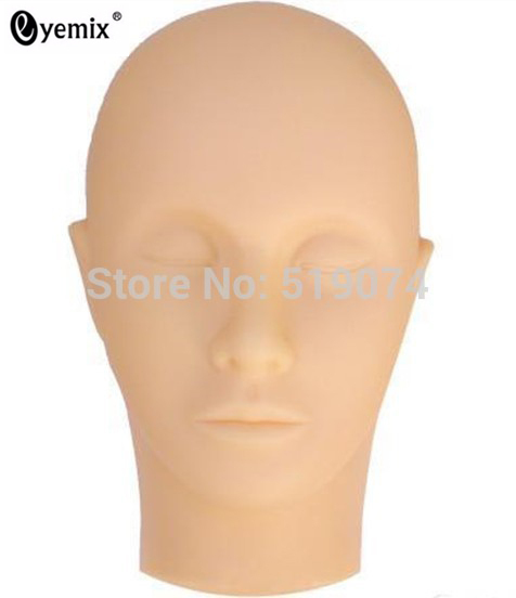 Mannequin Head for Eyelash Extension Training Free Shipping Eyelash Extension Tools