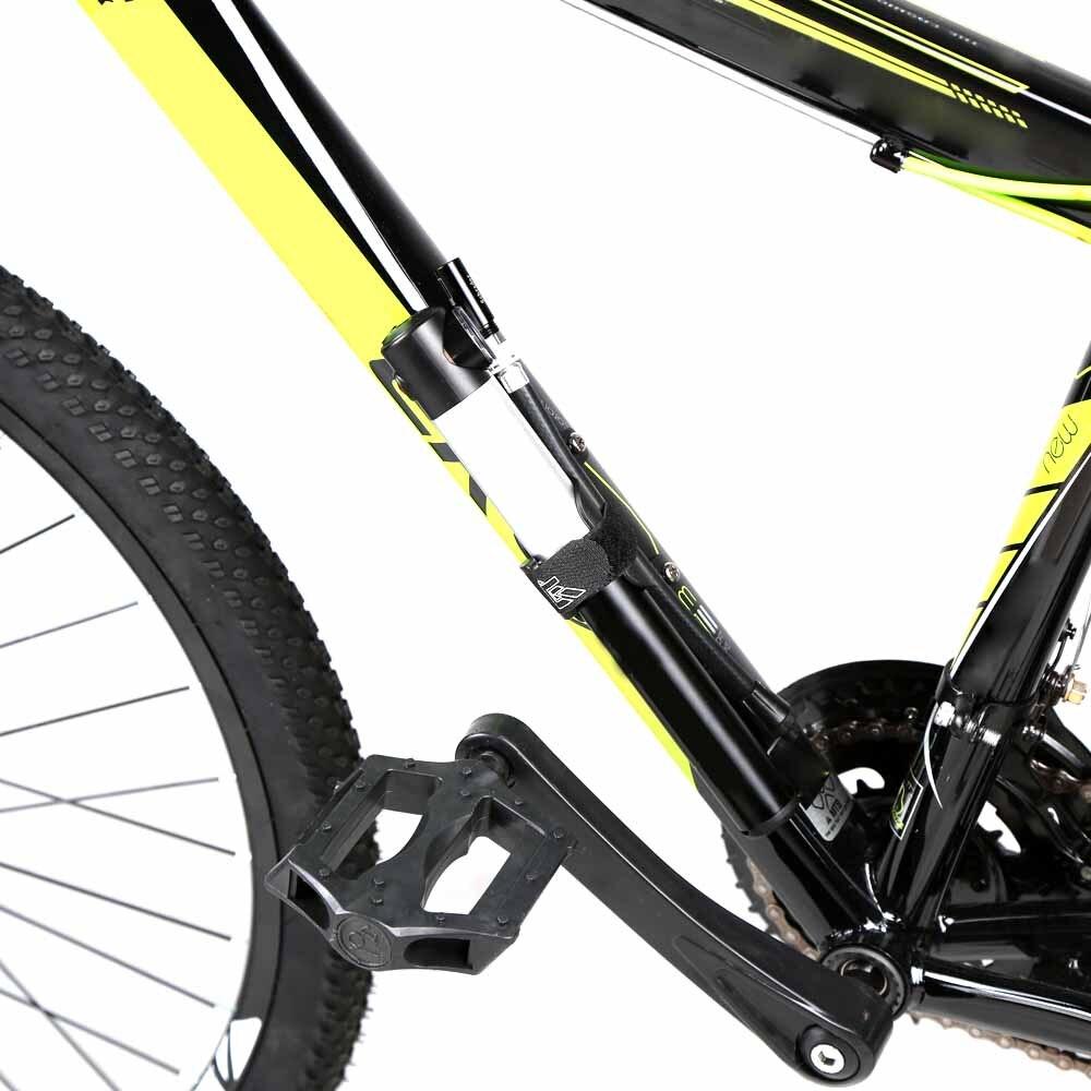 Frame Mounted Bike Pump With Gauge | BCCA