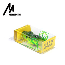 MEREDITH Popper Frog 11.7g 5.3cm 5pcs Frog Lures Soft Baits For Snakehead Bass Lures Frog Fishing Floating Topwater