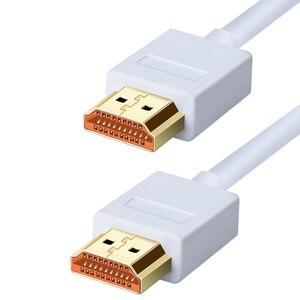 Image 1 - HDMI كابل الذكور إلى الذكور محول عال السرعة 3D 4K 1080P ل تلفاز LCD PS3 كمبيوتر محمول كابل 10M 1M 2M 3M