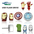 Free Shipping The Avengers Captain America Iron Man The Hulk Thor8GB 32GB 64GB U Disk Pen drive USB usb Flash Drive memory stick
