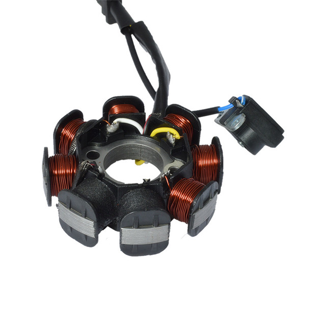 Motorcycle 4 Wire 8 Poles Full Wave For GY6 50 GY6 50 139QMB Magneto Stator Coil Generator Scooter Moped ATV Dirt Bike Taotao