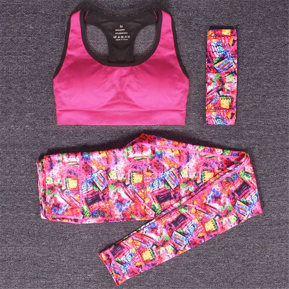 Women Sport Yoga Set For Gym And Running